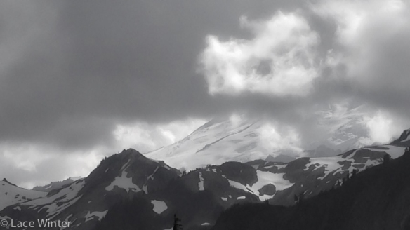 Mt Baker thru Clouds-1
