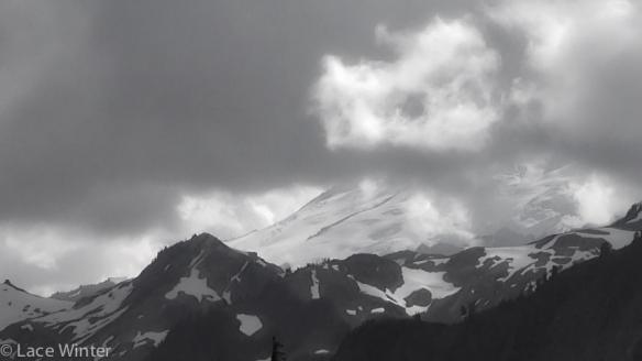 Mt Baker thru Clouds-1