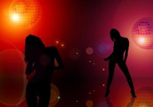 nightclub silhouette